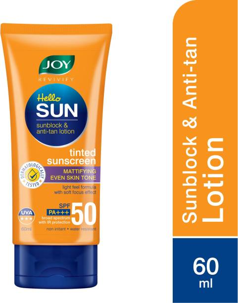 Joy Revivify Hello Sun SunBlock & Anti-tan Lotion - SPF 50 PA+++