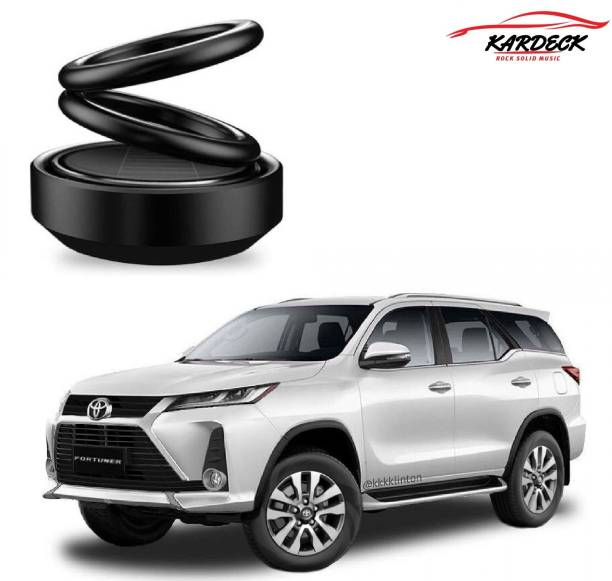 KARDECK Solar Car Fragrance Double Ring Rotating Car Aromatherapy Home Office Air Fresher Decoration Perfume Diffuser For Fortuner-AC Air Purifier