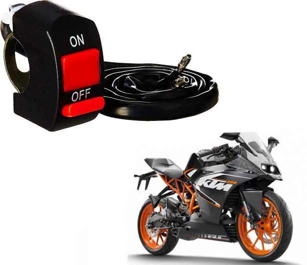 WolkomHome bike on off switch Handlebar Switches For KTM RC 390 15 A Two Way Electrical Switch