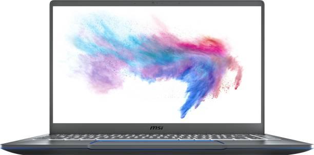 MSI Prestige 14 Core i7 10th Gen - (16 GB/512 GB SSD/Windows 10 Home/2 GB Graphics) Prestige 14 A10RAS-097IN Thin and Light Laptop