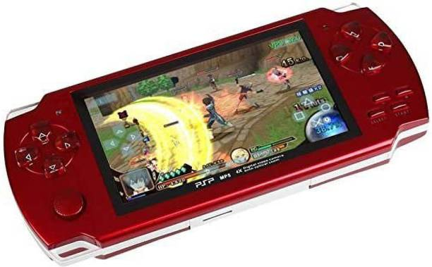 """Psp GameKart PSP RED HANDHELD GAMING CONSOLE WITH 2.8"""" TFT QUALITY DISPLAY -PPOKU 1 GB with SUPER MARIO, ANGRY BIRDS, SUPER RACE, METAL SLUG"""