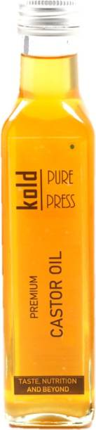 KOLD PURE PRESS Cold Pressed 100% Pure Virgin Castor Oil Hair Oil