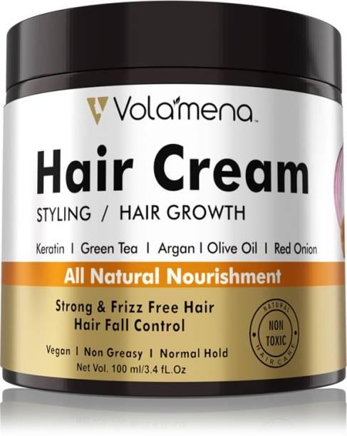Volamena Onion Argan Hair Cream for Styling & Growth Hair Cream
