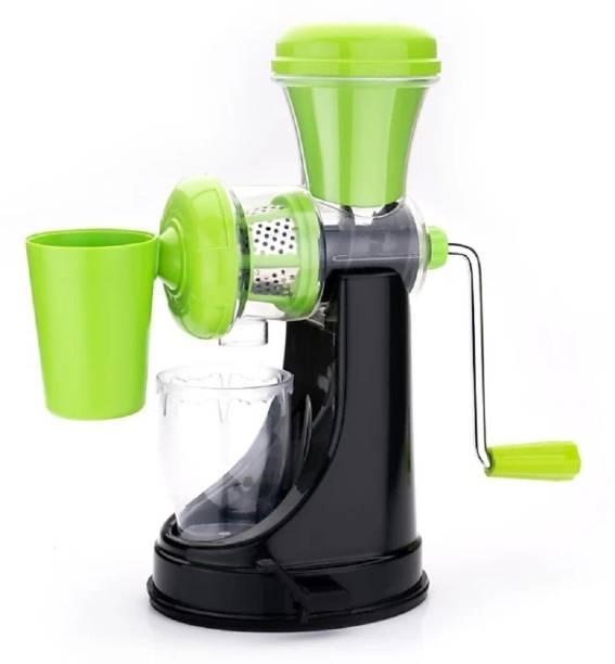 MYYNTI Plastic Hand Juicer Fruit and Vegetable Juicer Hand Juicer for Home Kitchen