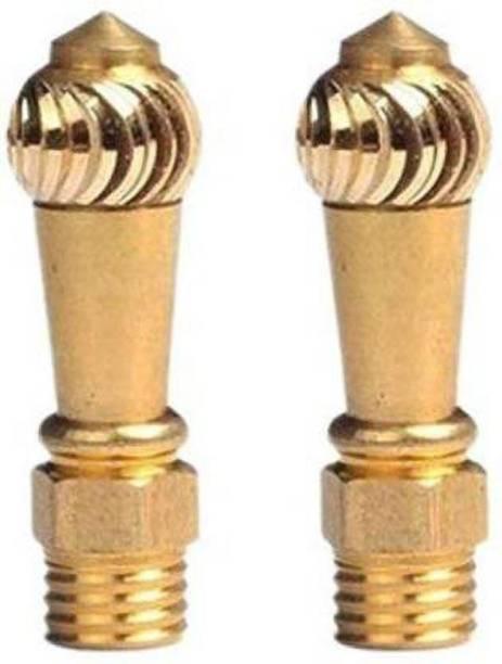KOHLI BULLET ACCESSORIES Brass Diamond Cut Bike Yok Handle Bar Styling ( Handle bar) Handle Bar