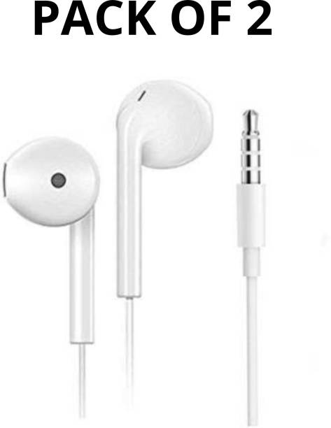 OPPO R11 WIRED HEADSET PACK OF 2 Wired Headset