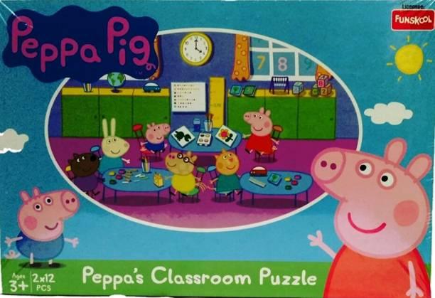 FUNSKOOL PEPPA PIG CLASSROOM PUZZLE