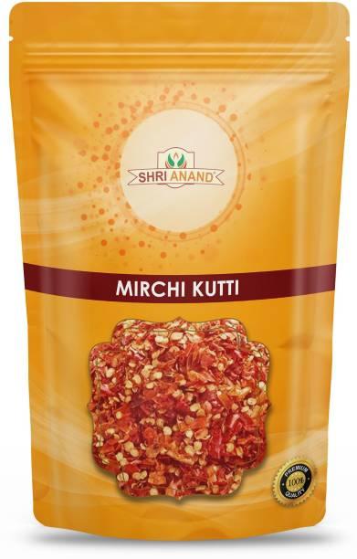 SHRI ANAND Red Chilli Flakes (Mirch Kuti )