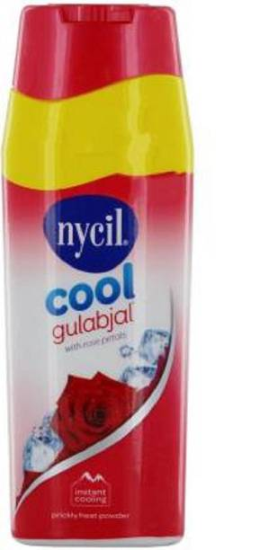 NYCIL Cool classic HERBAL gulaabjal EXPERT PricklE Heat Powder PACK OF 1
