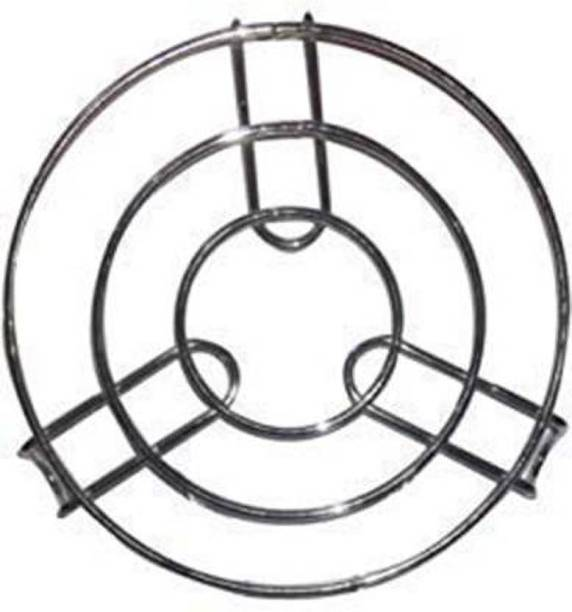 Ivaan Kitchen Cooking Pot Steaming Tray Stand Stainless Steel Round Cooker Steamer Rack Stand Cookware Tool Mirror Trivet (Pack of 1) Kitchen Cooking Pot Steaming Tray Stand Stainless Steel Round Cooker Steamer Rack Stand Cookware Tool Mirror Trivet (Pack of 1) Trivet