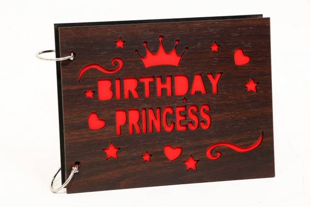 Whichwood Birthday Princess Wooden Album Album