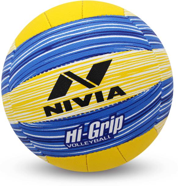 NIVIA Hi-Grip Volleyball - Size: 4
