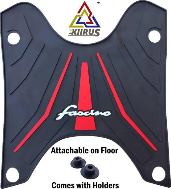 KIIRUS BS6 MultiColor Footmat Two wheeler mat scooty mat Yamaha Fascino Two Wheeler Mat