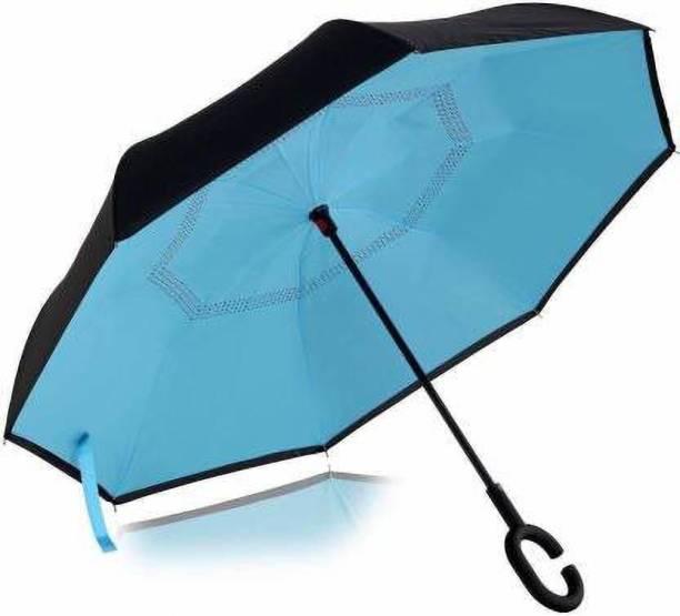Ganesh Enterprise Reverse Folding Double Layer Inverted Umbrella
