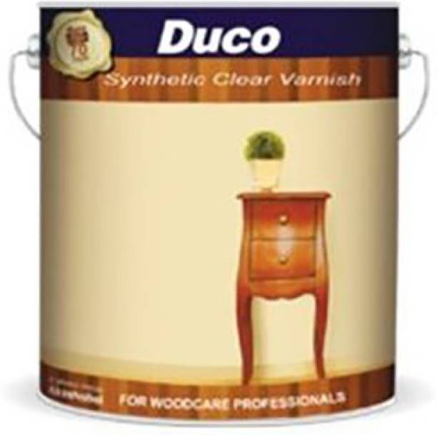 Dulux Duco Synthetic Varnish 4L White Emulsion Wall Paint
