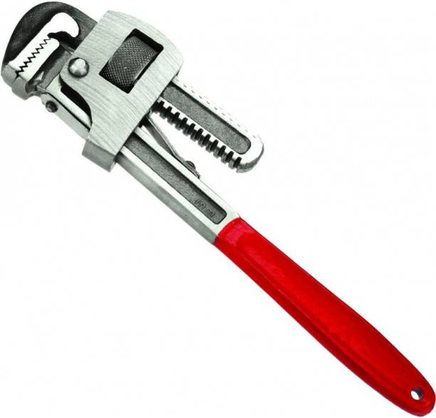 NSV 455017-350MM Super 14 Inch Heavy Duty Adjustable Pipe Wrench Drop Forged Single Sided Pipe Wrench