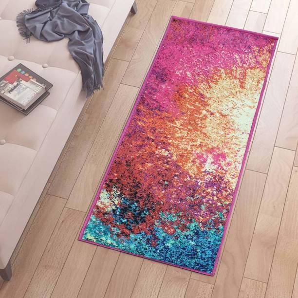 Flipkart Perfect Homes Multicolor Polyester Runner