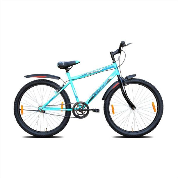 LEADER Scout 26T SEA Blue BLACK for Ride 26 T Mountain Cycle