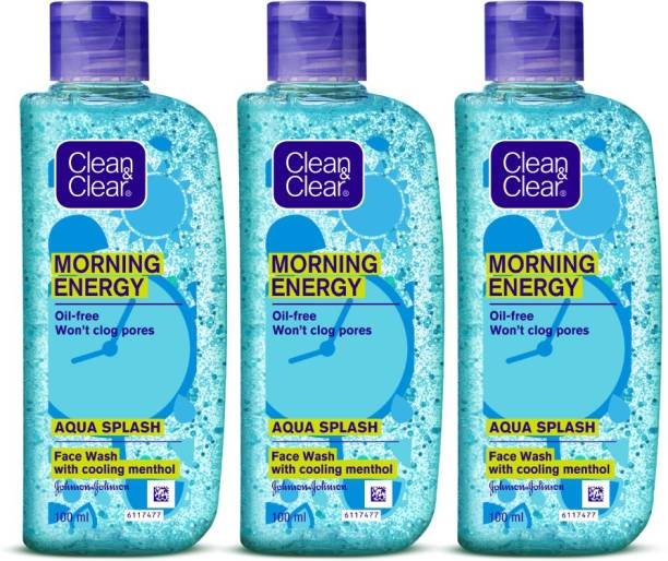 Clean & Clear Morning Energy -Aqua Splash Face Wash