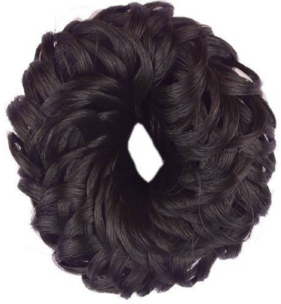 Shivarth Hair Juda Rubber Band Style Hair Accessories Brown Color Rubber Band