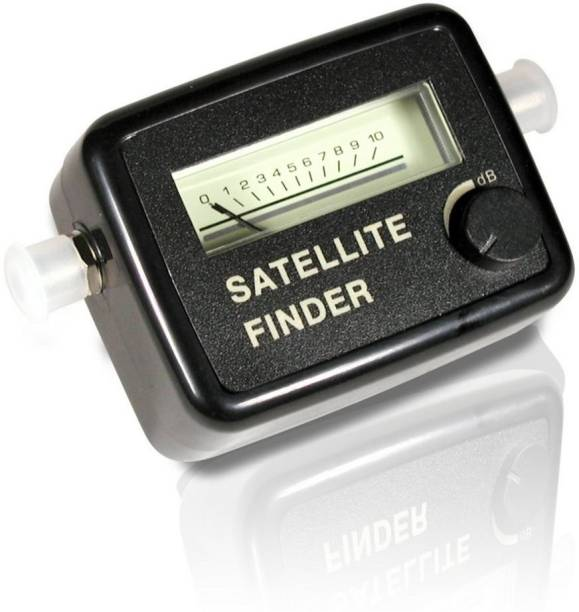 Laptoz DB-AFMK J9001 New Arrival Satellite Signal Finder for All Dish TVs Gain Measuring DB Meter Black Colour Mini LCD Display Satellite Signal Finder Meter Tester With Excellent Sensitivity Satellite TV Receiver for Free to Air/Dish Network/Direct TV/Satellite TV Magnetic Electronic Level