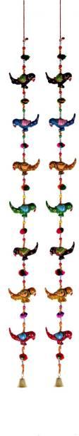 DreamKraft Decorative Parrot Door Hangings Toran