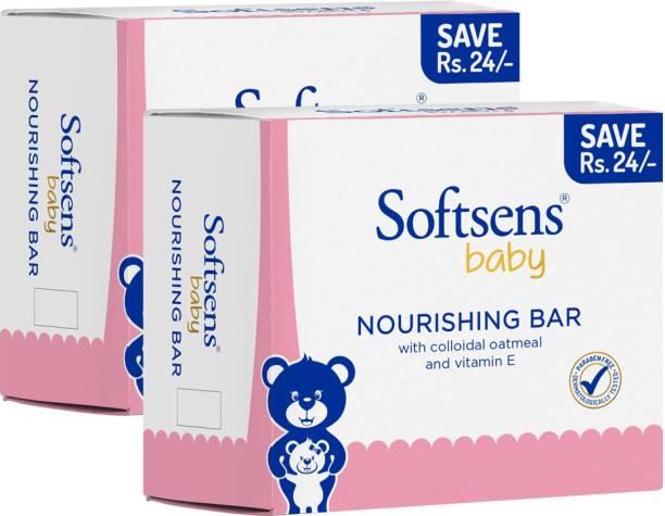 Softsens Baby Nourishing Bar 100x3 (Pack of 2)