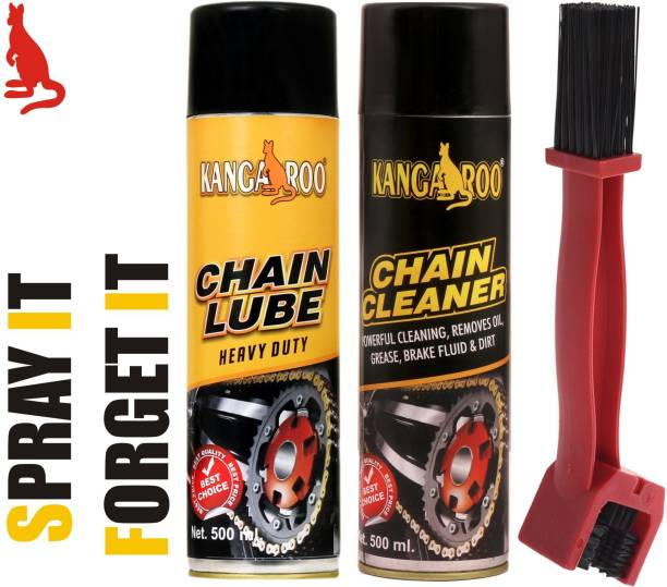 KANGAROO CL500 chain lube and cleaner with brush Chain Oil