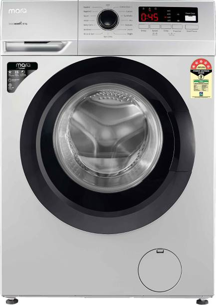 MarQ By Flipkart 6 kg Garment Sterilization Fully Automatic Front Load with In-built Heater Silver
