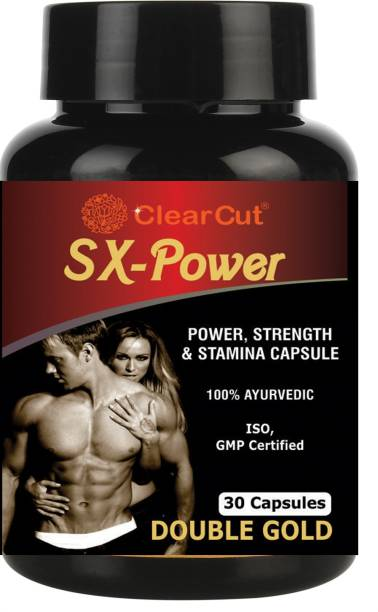 Clearcut SX Power Capsule for Stamina, Strength & Power, 30 Capsules