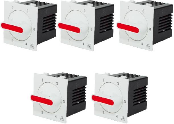 HI-PLASST (5pcs) Socket Redex Modular 5-step Step-Type Button Regulator