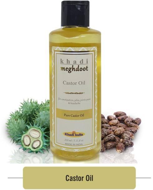 KHADI MEGHDOOT Castor Oil 210ml Hair Oil