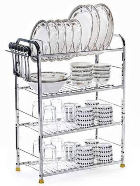 Maxtan 4 Shelf Dish Rack   Modular Kitchen Utensils Rack   31 L x30 H inch Storage Basket   Utensil Kitchen Rack Utensil Kitchen Rack