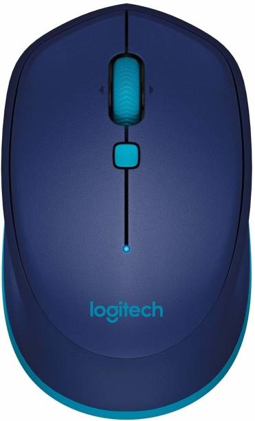 Logitech M337 BLUE Wireless Optical Mouse  with Bluetooth
