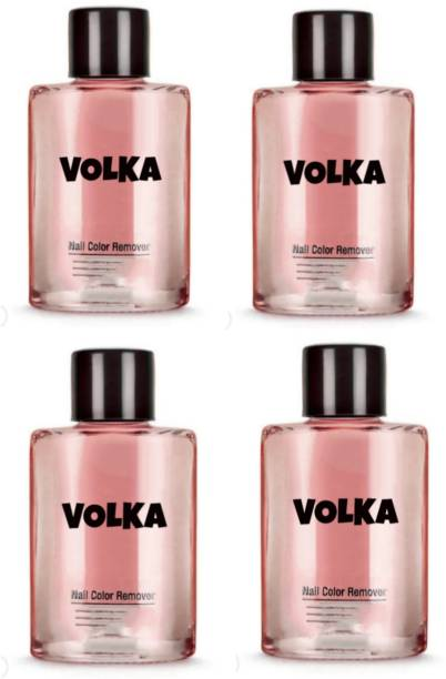 VOLKA Nail polish paint remover thinner A20 (PACK OF 4)