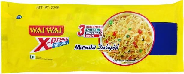 Wai Wai Masala Delight Instant Noodles Vegetarian