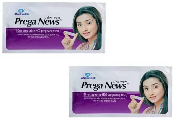PREGANEWS Pregnancy Test Kit 2pc Pregnancy Test Kit