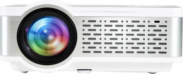 """Egate i9 Real HD 720p (1080p Support) , 2400 L (225 ANSI ) with 150 """" Large Display LED Projector 