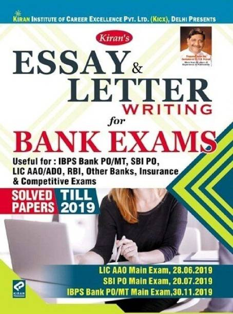 Kiran's Essay And Letter Writing For Bank Exams