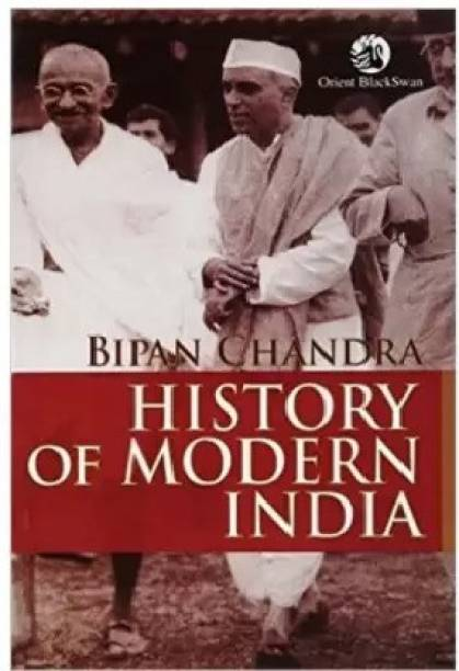 History Of Modern India By Bipin Chandra(Paperback English)