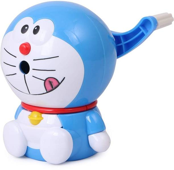 Quit-X High Quality Doraemon Sharpener for Kids single pencil tub Sharpener