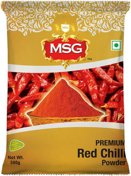 MSG Premium Red Chilli (Lal Mirch) Powder