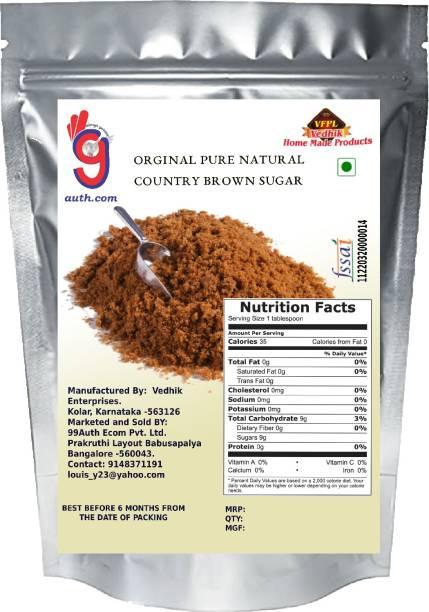 99Auth Sugar 1kg Brown Sugar. No Adulteration. Pure Genuine Sugar Sugar