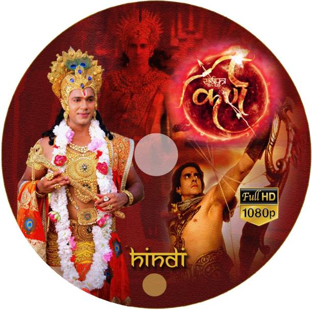Suryaputra Karn-Hindi-Sony Max-All 307 Episodes-1080 Pixel MP4 Video Quality-28 Printed DVDs 1