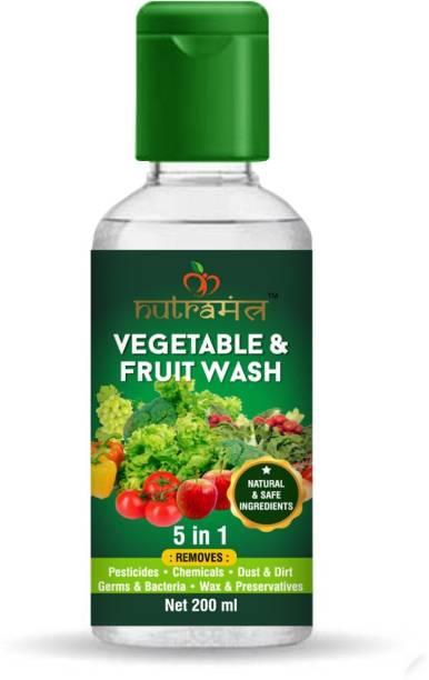 Nutramantra Vegetable & Fruit Wash 200 ML(Pack of 2)