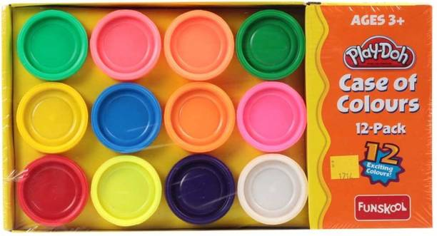 FUNSKOOL Play-Doh Case of Colours
