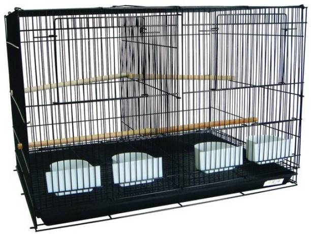 Taiyo Pluss Discovery Bird Cage with Removable Partition for Canary Finch Budgerigar and Lovebirds Bird House