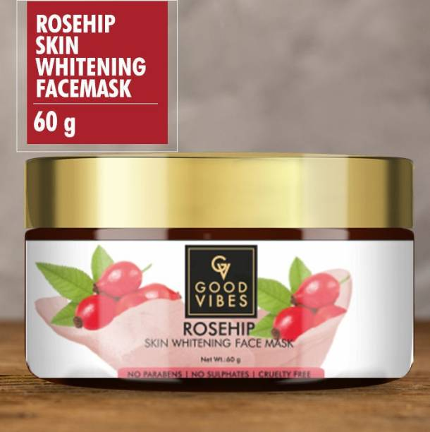 GOOD VIBES Skin Whitening Face Mask - Rosehip