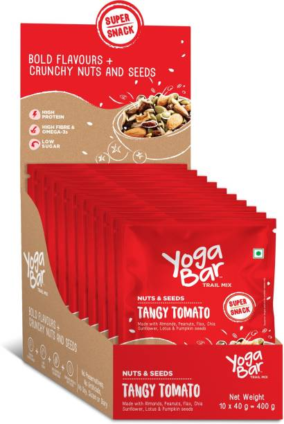 Yogabar Tangy Tomato Assorted Seeds & Nut Mix Assorted Nuts