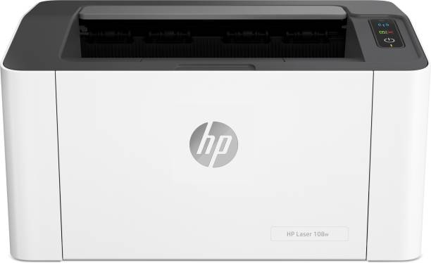 HP Laser 108 w Single Function WiFi Monochrome Printer